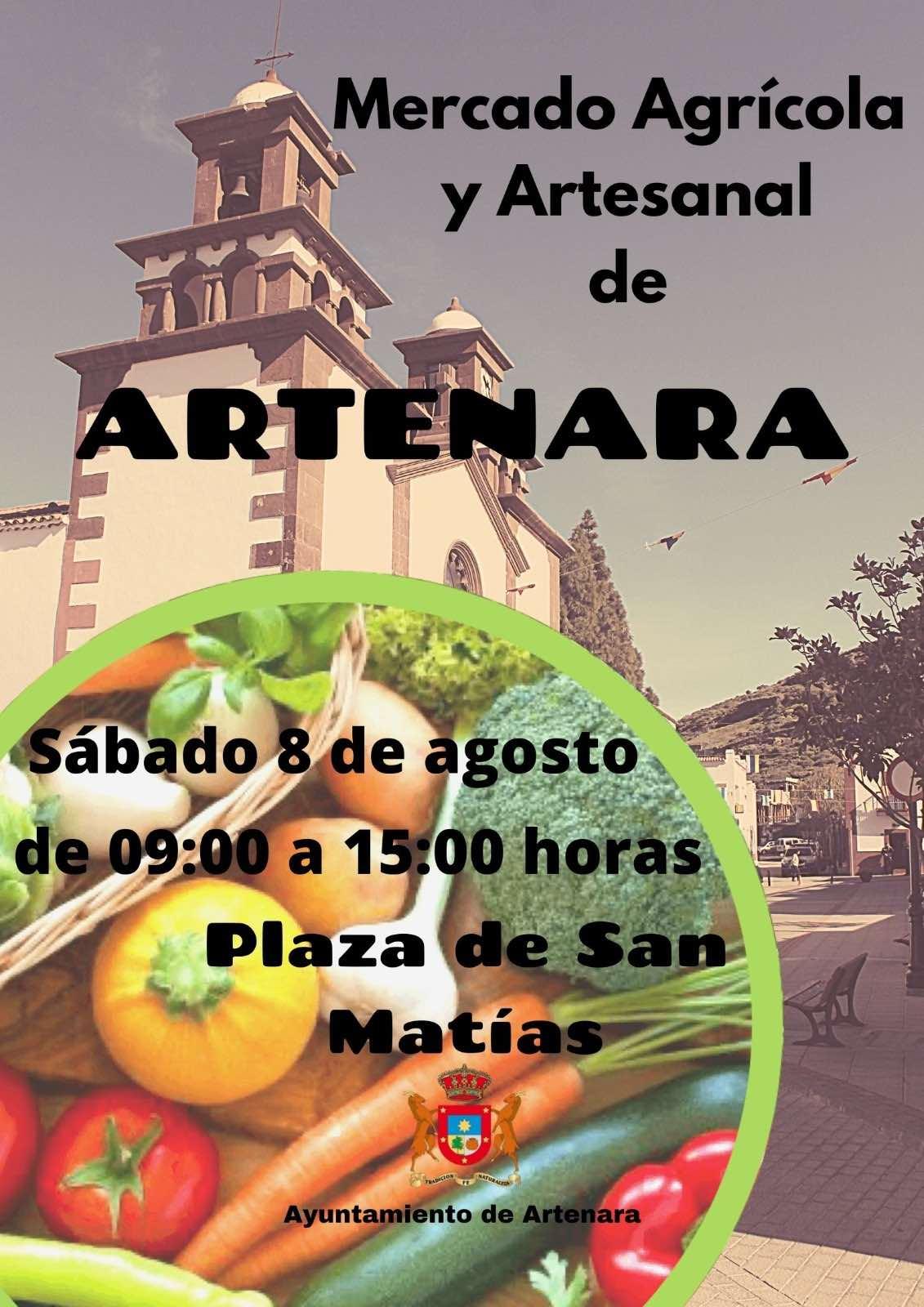 Nueva edición del mercado agrícola y ganadero de Artenara