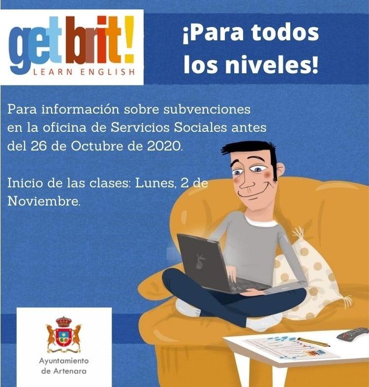 ¡Comienzan las clases de Inglés, pero este año con modalidad on-line!