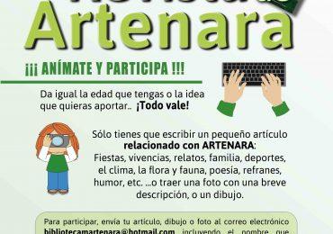 4ª Edición de LA REVISTA DE ARTENARA