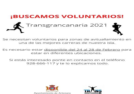 Voluntarios Transgrancanaria 2021