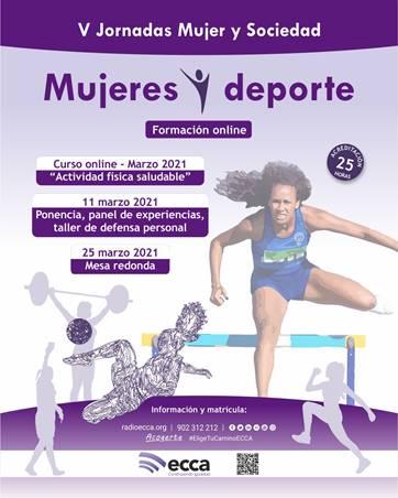 V JORNADAS MUJER Y SOCIEDAD, Mujer y deporte.