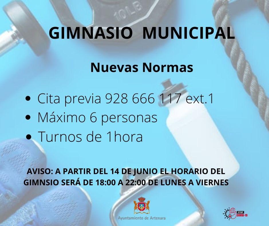 Gimnasio Municipal Artenara