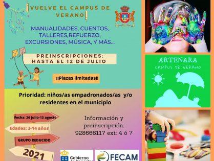 CAMPÚS DE VERANO 2021