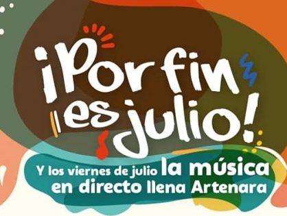 """""""POR FIN ES JULIO"""" Música en directo en Artenara"""