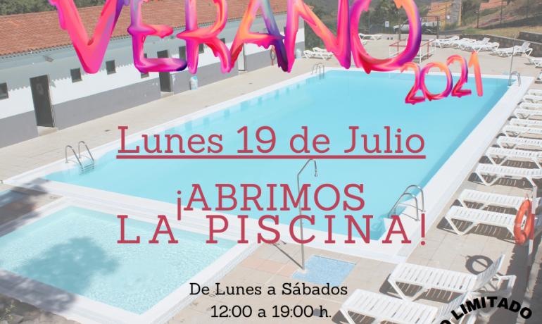 Abre la Piscina Municipal de Artenara