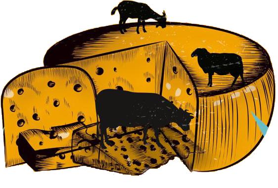 Dibujo feria del queso